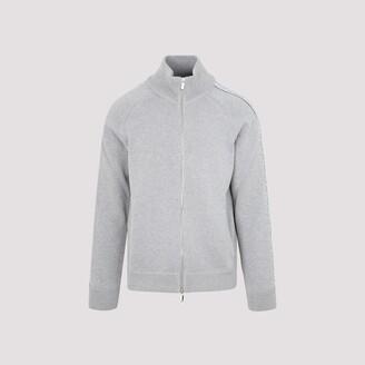 Dior Homme Oblique Detail Knitted Jacket
