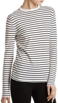 ATM Anthony Thomas Melillo Striped Crewneck Sweater