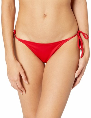 GUESS Women's Rockgirl String Brief Bikini Bottom