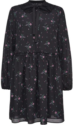 Pinko Floral-Print Flared Dress