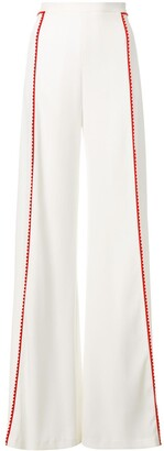 Galvan High-Waisted Side Stripe Trousers