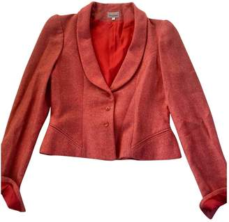 Stella Cadente Red Wool Jacket for Women