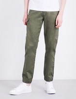 Diesel Chi-united straight loose-fit stretch-cotton trousers