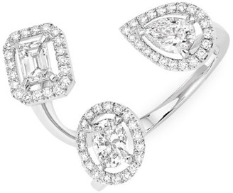 Messika My Twin Trilogy 18K White Gold & Diamond Ring