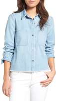 7 For All Mankind Step Hem Top