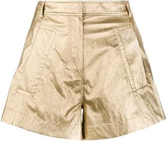 Philosophy di Lorenzo Serafini Metallic Shorts
