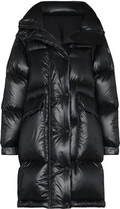 MONCLER GRENOBLE Entreves detachable-sleeve puffer coat