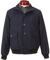 Daniel Cremieux Signature Plaid Wool Bomber Jacket
