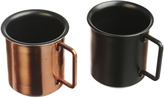 Just Slate Set of 2 Small Coffee Cups