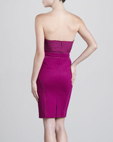 Zac Posen Jersey Bustier Dress