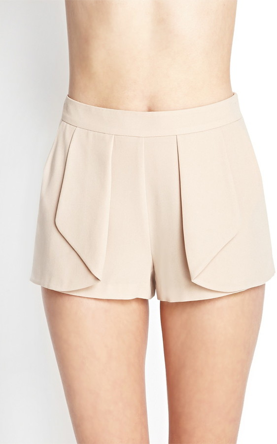 Forever 21 Soft Woven Origami Shorts
