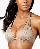 Kenneth Cole Metallic Push-Up Bikini Top Women's Swimsuit