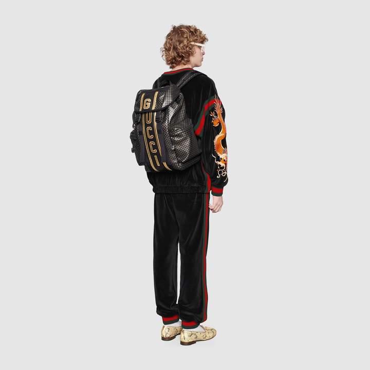 Gucci Dapper Dan backpack