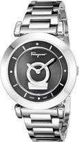 Salvatore Ferragamo Women's FQ4040013 Minuetto Swiss Made Silver Watch