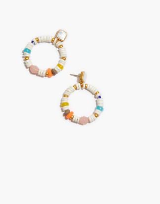 Madewell Puka Shell Hoop Earrings