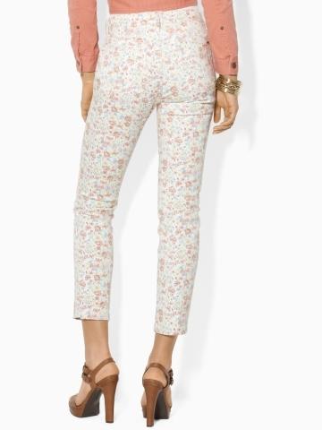 Lauren Ralph Lauren Ralph Floral Modern Ankle Jean