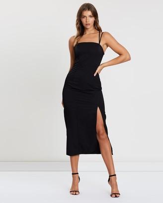 Atmos & Here Multi-Strap Bodycon Dress
