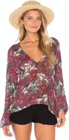 Beach Riot Sage Blouse