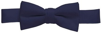 Hold'em Hold'Em Bow Tie For Mens Boys and Baby Satin look Solid Color Adjustable Pre-tied