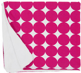 DwellStudio Stroller Blanket - Fuschia Dots