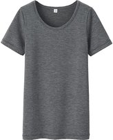 Uniqlo Kids HEATTECH Scoopneck T-Shirt