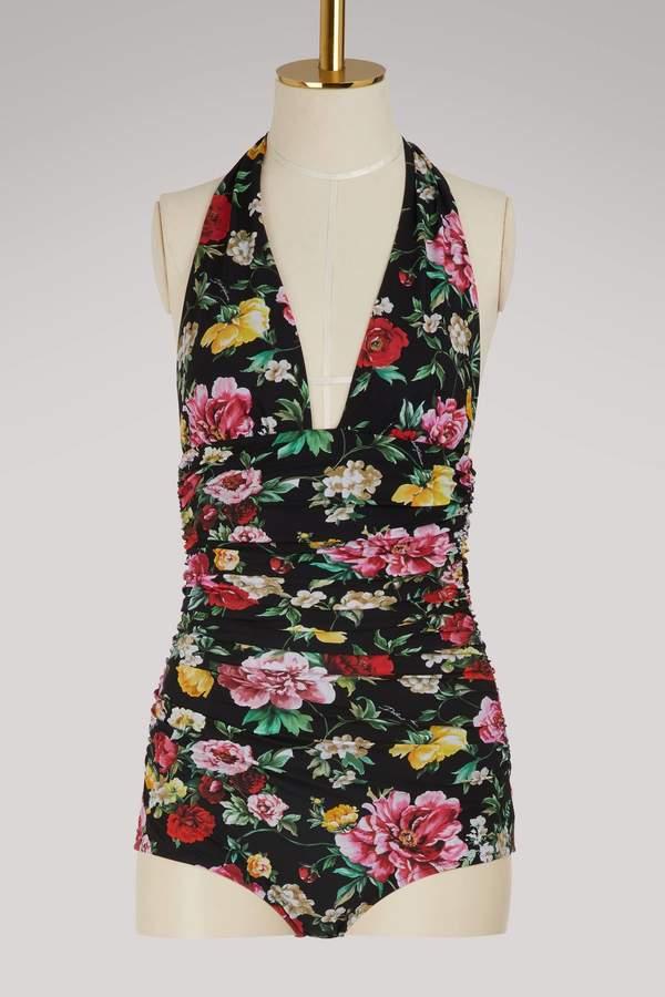 Dolce & Gabbana Draped swimsuit