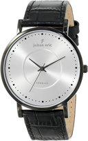 Johan Eric Men's JE1800-13-001 Esbjerg Analog Display Quartz Black Watch