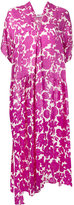 Christian Wijnants floral-print asymmetric dress - women - Silk - 36