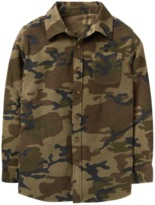 Crazy 8 Camo Microfleece Shirt Jacket