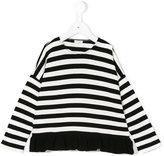 Il Gufo striped top - kids - Polyester/Viscose - 3 yrs