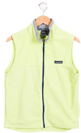 Patagonia Girls' Stand Collar Vest