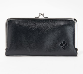 Patricia Nash Leather Frame Wallet - Everly
