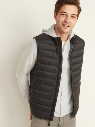 Old Navy Water-Resistant Packable Narrow-Channel Puffer Vest for Men