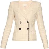Etoile Isabel Marant Flenn collarless tweed jacket