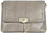 Topshop Flip Lock Clutch Bag