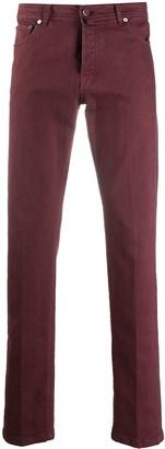 Kiton Five-Pocket Straight Leg Jeans