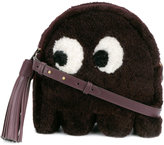 Anya Hindmarch 'Ghost' shearling crossbody bag - women - Leather/Sheep Skin/Shearling/Suede - One Size