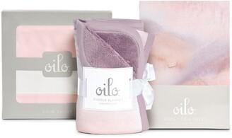 Oilo Sandstone Crib Skirt, Cuddle Blanket & Fitted Crib Sheet Set