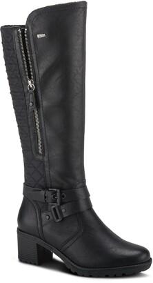 Spring Step Selela Water Resistant Faux Fur Lined Knee High Boot