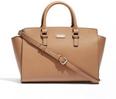 New York & Co. Winged Faux-Leather Tote Bag
