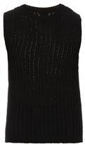 Rick Owens Sleeveless Fisherman-knit Tank Top