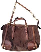 Miu Miu Brown Handbag
