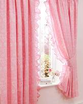 Nina Pencil Pleat Curtains & Tiebacks