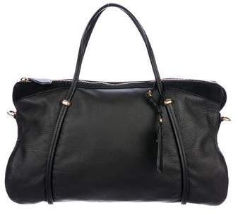 Nina Ricci Ballet Leather & Suede Tote