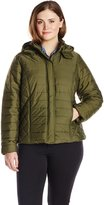 Big Chill Women's Plus-Size Quilted Puffer Jacket Plus