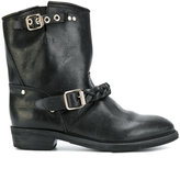Golden Goose Deluxe Brand Buckle up ankle boots