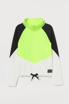 H&M Zip-top sweatshirt