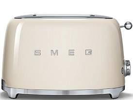 Smeg Tsf01Crau - 2 Slice Toaster Cream