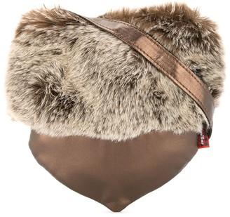 Familiar Faux Fur Acorn Bag