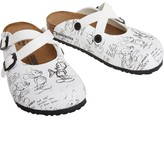 Birkenstock Kids Dorian Birko-Flor Narrow Fit Sandals Mickey Heritage White